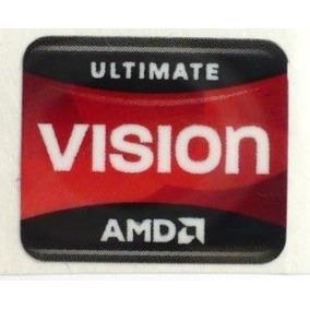 Adesivo Original Amd Vision Ultimate