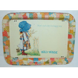 Holly Hobbie Bandeja De Metal No Envio