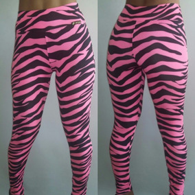 Calça Legging Animal Print Zebra