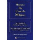 Libro Anexo A Un Curso De Milagros - Isbn 9788493809140