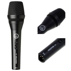 Microfone Dinâmico Perception P3s Akg Voz E Instrumentos