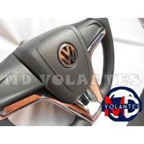 Volante Esportivo Cruze Cromado Polo Golf Gol Fox Voyage G5