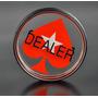 Botão Dealer Acrílico 7,5x2cm Para Poker - Poker Stars Ps