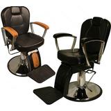 Resistente Silla Sillon Barbero Peluquero Profesional Salon