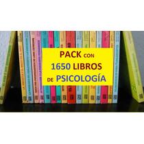 Pack 1650 Libros De Psicología - Pdf - Envío Gratis