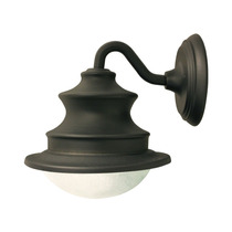 Lampara Exterior Pared Gama Sonic Barn Solar Light Fixture W