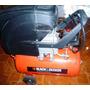Compresor De Aire Lubricado 24lts 2hp Profesional B&d Nuevo.