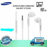 Audífonos Samsung Galaxy S7 Edge Originales S4 S5 S6