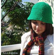Sombrero Modelo Abierto Boinas Gorros Tejidos A Mano