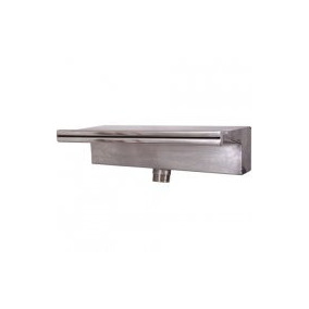 Cascata P/ Piscina - Aço Inox 304 - Embutir - Compacta 40cm