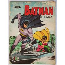 Batman Y El Hombre Rana 1968 Libro Colorear Vintage Tlacua03