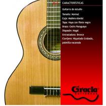 Guitarra Clásica Gracia Modelo M3 Con Funda
