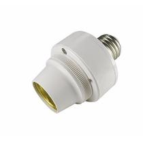 Soquete Com Sensor Sonoro E27 Fotocélula Automático
