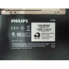 Note Philips 13nb4602 - Teclado Com Ç