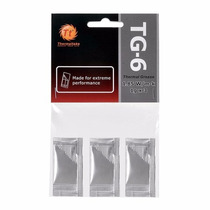 Pasta Termica Thermaltake Tg6 3 Pacotes 1gr Cl-o003-grosgm-a