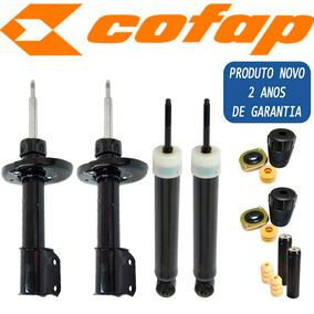 Kit 4 Amortecedor Corsa / Celta / Prisma - Novo Cofap + Kit