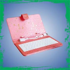 Funda Teclado Tablet 7 Color Rosa