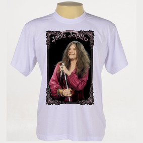 Camiseta Rock - Janis Joplin