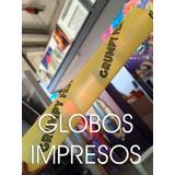 550 Globos De Cancha Impresos Con Tu Logo