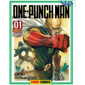 Mangá One Punch Man Volume 1 Panini - Novo E Lacrado