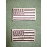 2 Banderas E E U U Para Tenidas Mimetismo U C P Originales