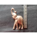 Talla Madera Elefante. Medida Y Estado Segun Foto