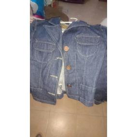 Blazer Camperita De Jeans Wupper
