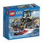 Lego City 60127 Conjunto De Iniciação Ilha Da Prisão 92 Pçs