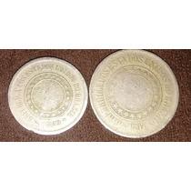 3 Moedas De 1889 - 1 De 100 Réis E 2 De 200 Réis M41