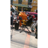 Pluma Grua Subida De Material Motor Diesel De 10hp