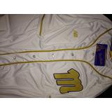 Camisa Navegantes Del Magallanes Blanca Dorada Original