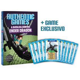 Authenticgames - A Batalha Contra Ender Dragon - Vol. Iii +