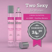 Two Sexy - Comparado A: 212 Sexy - Carolina Herrera