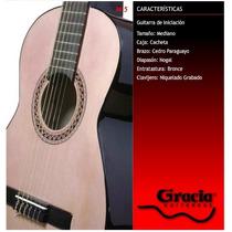 Guitarra Clásica Gracia Modelo M5 Con Funda