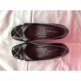 Sibyl Vane... Zapatos Cuero Con Taco De 4.5cm Aprox... T 39