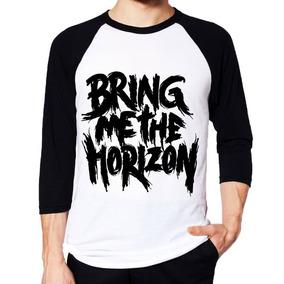Camiseta Bring Me The Horizon Raglan 3/4