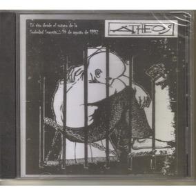 Atheos - En Vivo 1992 ( Hardcore Punk Mexicano ) Cd Rock