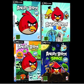Coleccion De Angry Birds Para Pc - 5 Juegos - Full