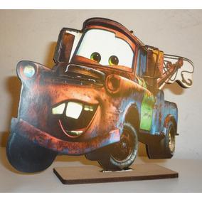 Candy Bar Mate (cars) En Fibrofacil Gigante Cars