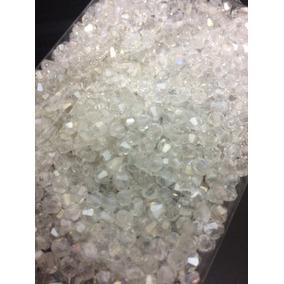 1000 Pedras Cristal Swarovski 4mm Branca Boreal Bordados