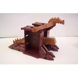 Playmobil Catapulta Medieval Para Castillo Refaccion Lote
