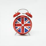 Reloj Despertador Morph Con Alarma Diseño Inglaterra