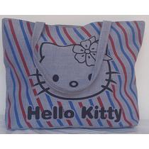 Bolso Y Cartera De Tela Grande Hello Kitty