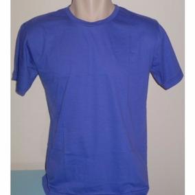 Camiseta Lisa 100% Algodão Fio 30.1 Penteado G1 A G6 -grande