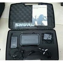 Locação Microfone Shure Pgx Head Set Headset Original Tenho5