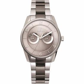 Reloj Obaku Plateado Caballero V171gmcj Original Envío Grats