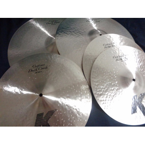 Kit Zildjian - K Dark Custom Series + Bag 20 De Brinde