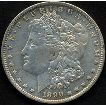 Guardia Imp. Estados Unidos Morgan Dolar 1890 Plata Exc