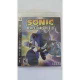 Vendo Jogo Para Ps3 Sonic Unleashed Novo E Lacrado