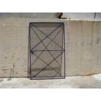 Puerta Reja Proteccion Metalica Malla Galvanizada 30x30